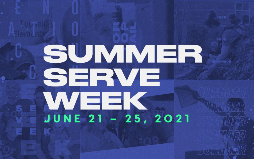 Summer Serve Week
